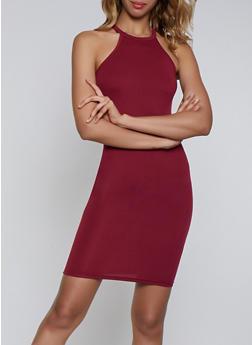 Slashed Back Cami Dress - 0094038349828
