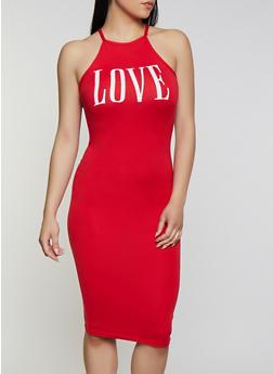 Love Tank Dress - 0094038349869