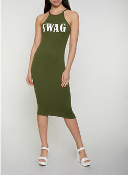 Swag Soft Knit Tank Dress - 0094038349870