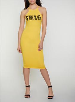 Swag Soft Knit Tank Dress - 0094038349870