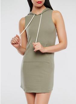 Hooded Tank Dress - 0094054260498