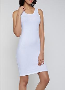 Solid Midi Tank Dress | 0094058752790 - 0094058752790