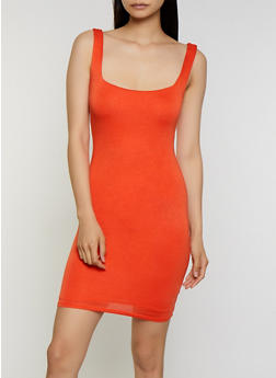 Bodycon Tank Dress - 0094058754431