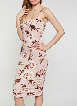 Pink Floral Dresses for Women