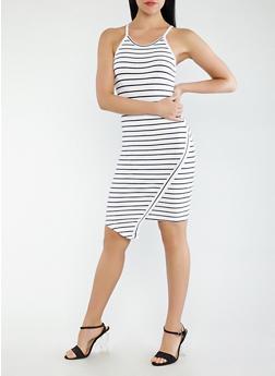 Striped Tank Dress - 0094061639667