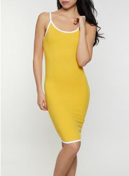 Contrast Trim Cami Dress | 0094061639742 - 0094061639742