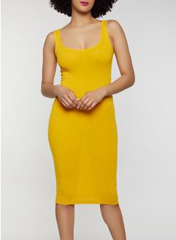 Rib Knit Bodycon Dress | 0094061639762 - 0094061639762