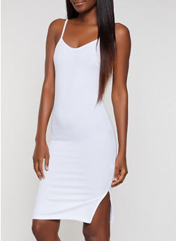 Ribbed Cami Dress - 0094062124540