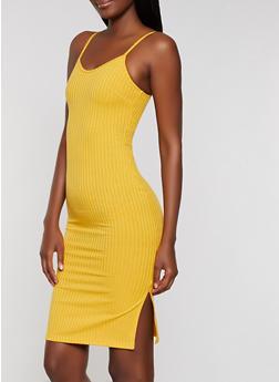 Ribbed Cami Dress - 0094062124540