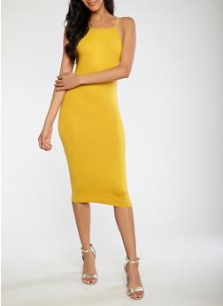 Soft Knit Tank Dress - 0094073374657
