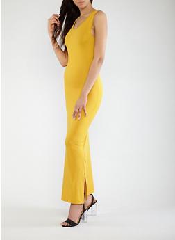 Soft Knit Maxi Dress - 0094073374910