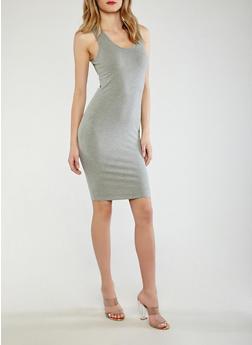 Solid Tank Dress - 0094074281510
