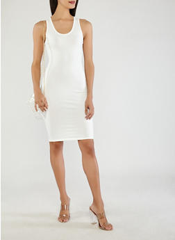Solid Tank Dress - 0094074281510