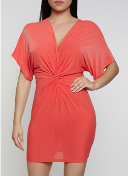 Knot Front Dress - 0096062128000