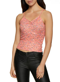 Floral Knit Cami - 0300015990520