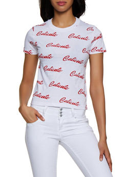 Caliente Graphic Tee - 0302033876633