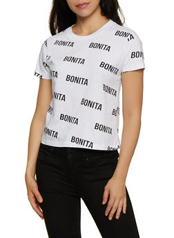 Bonita Graphic T Shirt - 0302033876644