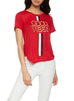 Good Vibes Graphic Tee - 0302074295008