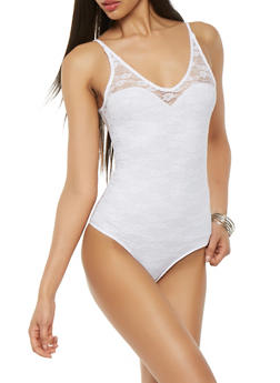 Lace Bodysuit - 0307054265872