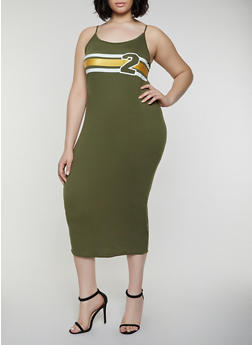 Plus Size Green Camis