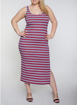 Cheap Plus Size Tank Dresses | Everyday Low Prices | Rainbow