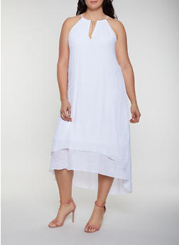 White Plus Size Dresses | Rainbow