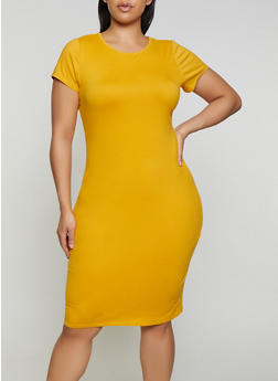 Yellow Plus Size Dresses | Rainbow