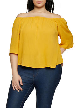 03c906882f3 Plus Size Off the Shoulder Top | 0803054269389 - 0803054269389