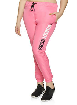 Pink Active Woman Pants
