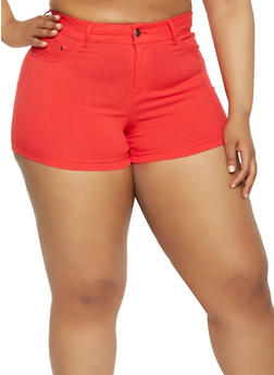 Plus Size Hyperstretch Shorts - 0860056570991