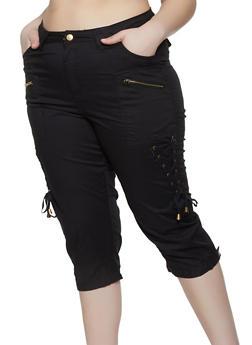 Black Capri Pants for Women
