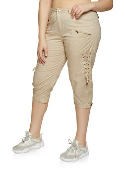 Plus Size Khaki Pants for Women