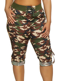 dd76170f6fb Plus Size Camouflage Collection