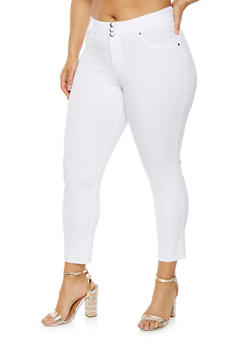 Plus Size Hyperstretch Push Up Pants - 0865056571100