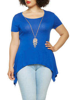 Plus Size Rhinestone Graphic Cold Shoulder Top - 0912062702461