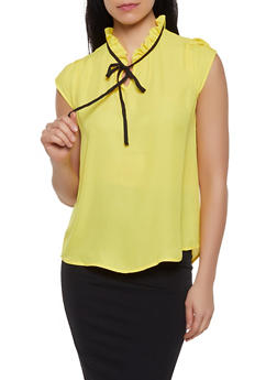 8de5866ee2af4 Yellow Womens Shirts and Blouses
