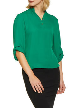 Womens Green Shirts