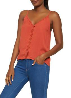 Crochet Insert Cami - 1002054260978