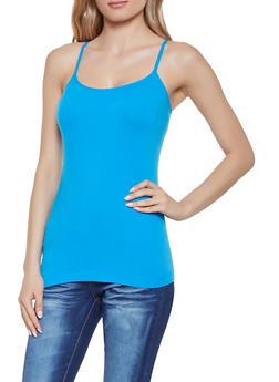 Seamless Cami - Blue - Size M - 1010054263221