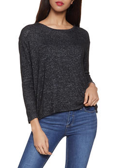 Brushed Knit Sweater - 1012054260547