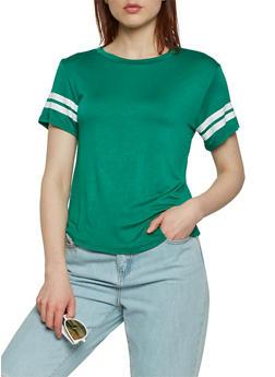 Athletic Stripe T Shirt - 1012054265880