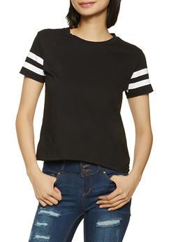 Varsity Stripe Tee - 1013033879522