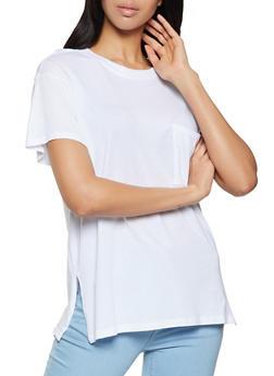 Single Pocket Oversized Tee - 1013054262581