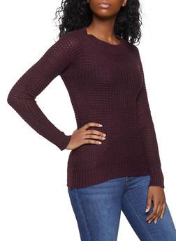 Long Sleeve Knit Sweater - 1020038348101