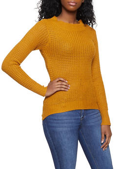 Long Sleeve Knit Sweater - 1020038348101