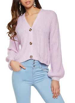 Three Button Cardigan - 1022051931071