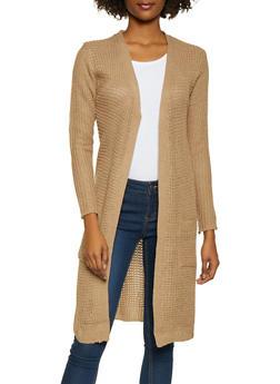 Long Knit Cardigan - 1024038348215