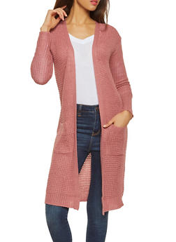 Long Knit Cardigan - 1024038348215