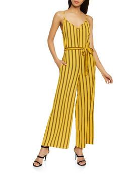 Multi Stripe Cami Jumpsuit - 1045054262975