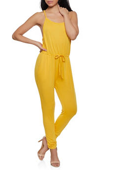 647d65697c2 French Terry Lined Jumpsuit - 1045054266786